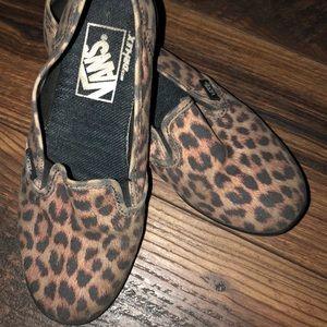 Leopard Print Vans GUC